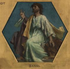 Esquisse pour l'église Saint François Xavier : Daniel