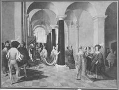 Esther vor Ahasver (zugeschrieben)