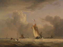 Fishing Smack and Other Vessels in a Strong Breeze
