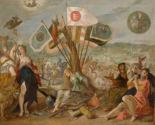 Five Allegories of the Turkish Wars: Battle of Hermannstadt