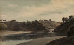 Flusslandschaft in der Bretagne