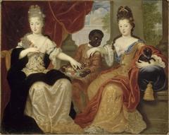Françoise-Marie de Bourbon dite Mademoiselle de Blois et Louise-Françoise de Bourbon dite Mademoiselle de Nantes