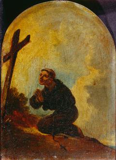 Friar in Prayer