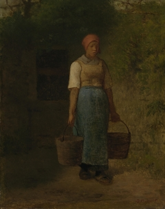 Girl Carrying Water
