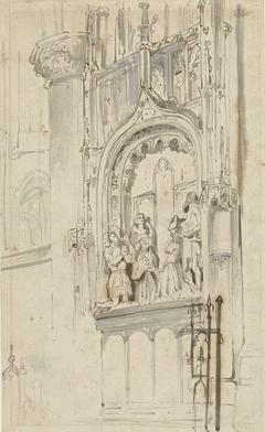 Grafmonument van Engelbrecht I van Nassau, in de Grote Kerk te Breda