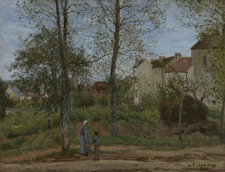 Houses at Bougival (Autumn)