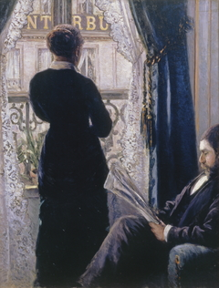 Interior.Woman at the Window