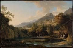 Italian Landscape with Bathers
