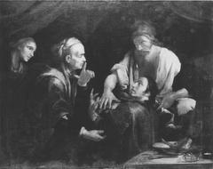 Jacob betrügt Esau (Kopie nach)