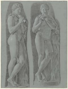 Jonge faunen in het Museo Capitolino te Rome