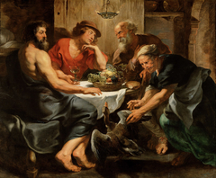 Jupiter und Merkur bei Philemon und Baucis