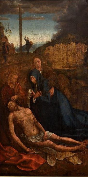 Lamentation on the Christ
