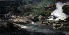 Landscape Study (Waterfall)