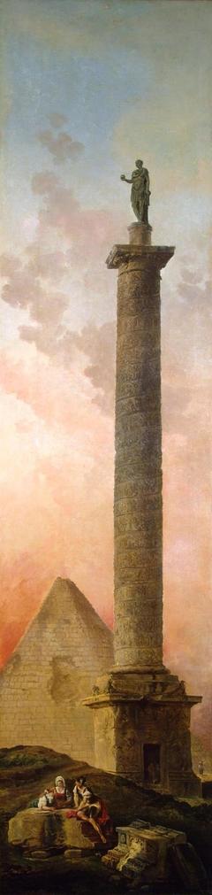 Landscape with a Triumphal Column