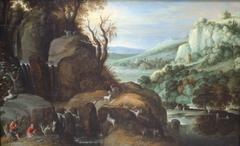 Landscape with Shepherds