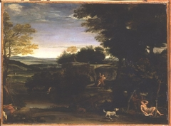 Landscape with Silvia and the Satyr