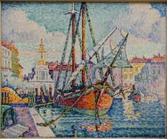 Le bateau d'oranges, Marseille