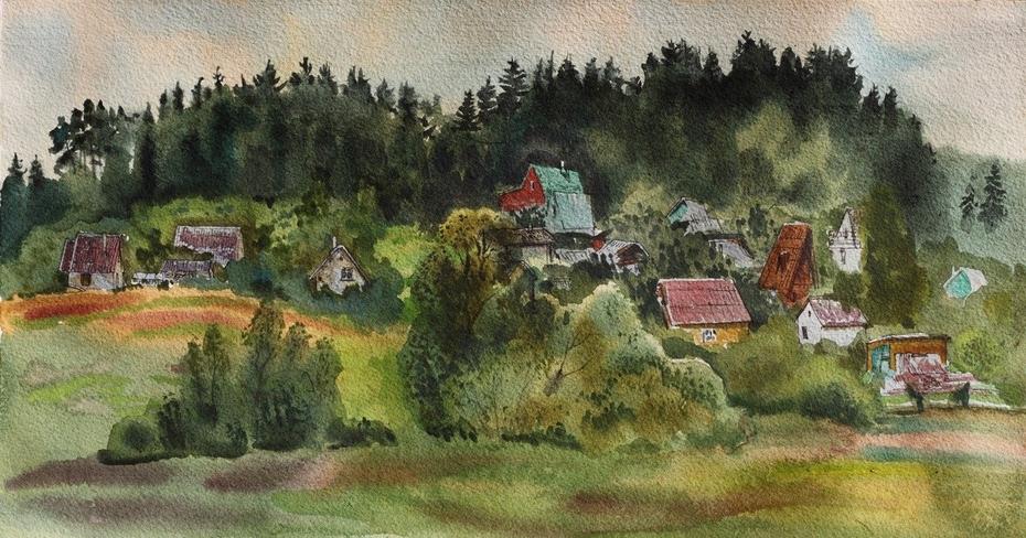 Lithuanian village