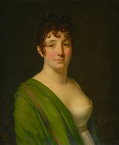 Madame Bocquet with a green shawl
