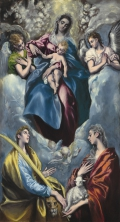 Madonna and Child with Saint Martina and Saint Agnes