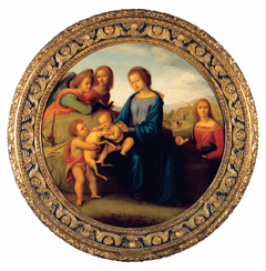 Madonna and Child with Saints and Angels