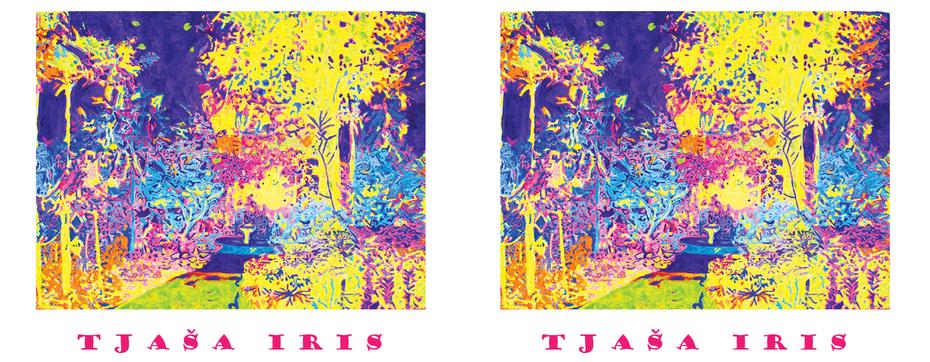 MAGIC FOUNTAIN, acrylic on canvas, 90 x 120 cm, 2012 m
