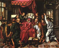 Marientod Altar: The Death of Mary