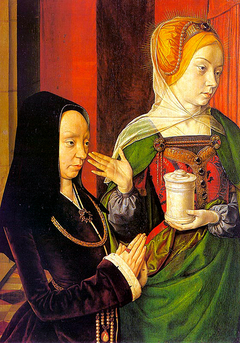 Mary Magdalene with a donor