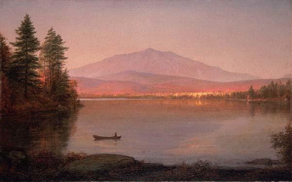 Mount Katahdin from Millinocket Camp