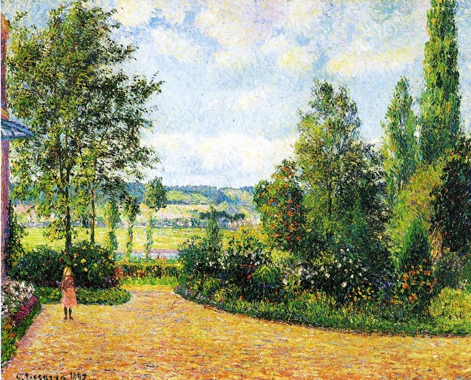Octave Mirbeau's Garden, the Terrace, Les Damps
