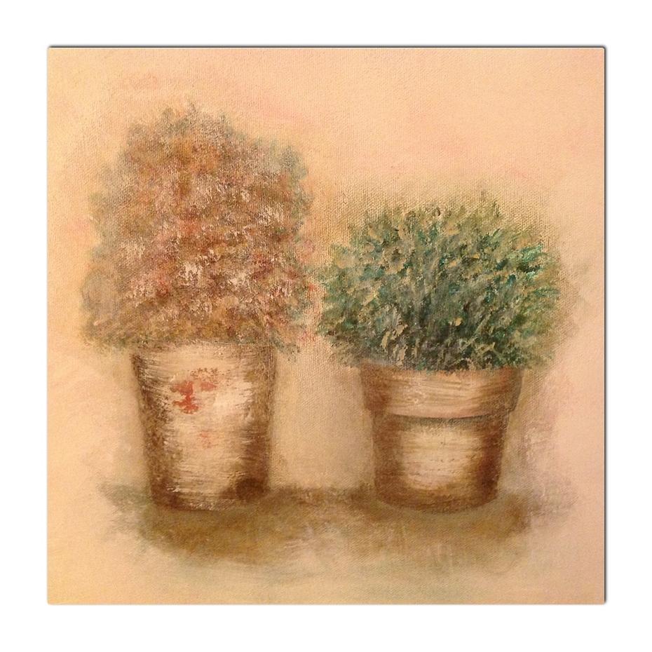 oil on canvas 30 x 30 cm
