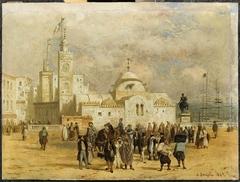 Place du Gouvernement à Alger