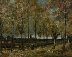 Lane with Poplars near Nuenen