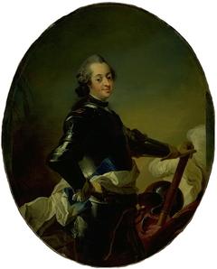 Portræt af Frederik V i rustning