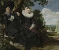Portrait of a Couple, Probably Isaac Abrahamsz Massa and Beatrix van der Laen
