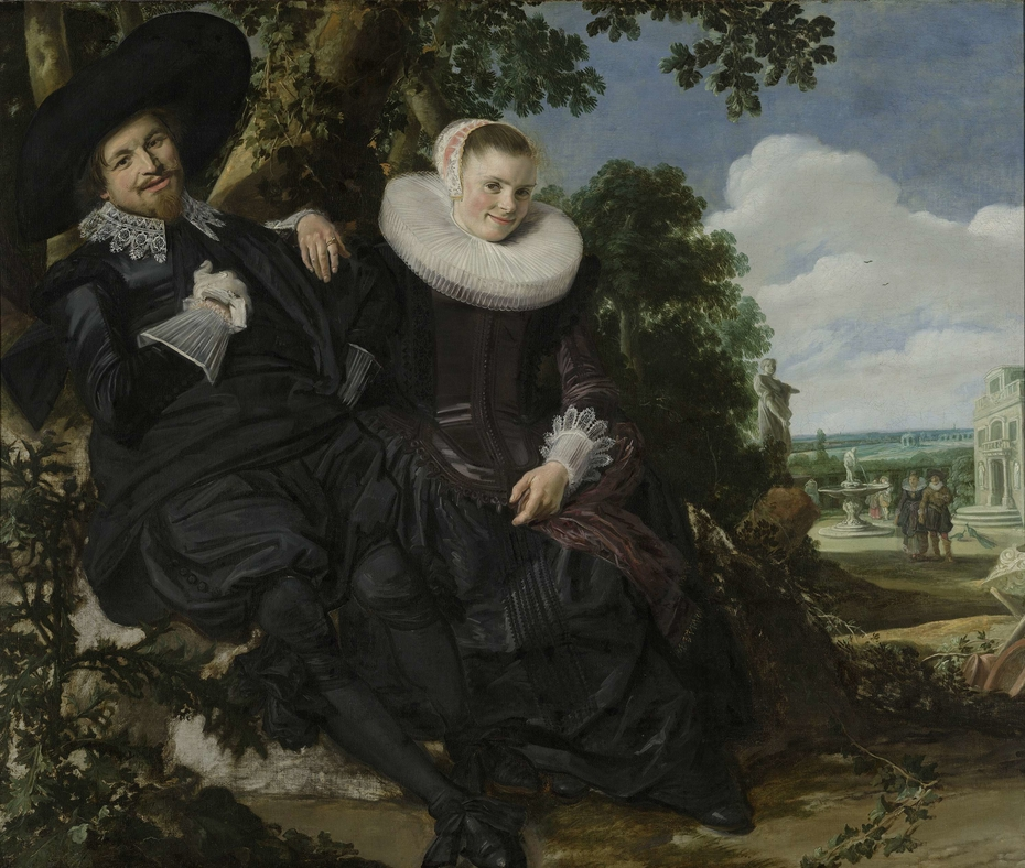 Portrait of a Couple, Probably Isaac Abrahamsz Massa and Beatrix van der Laen