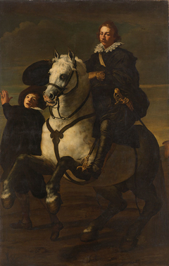 Portrait of a Man on a Horse