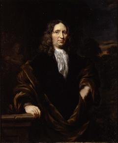 Portrait of a Man with a Landscape