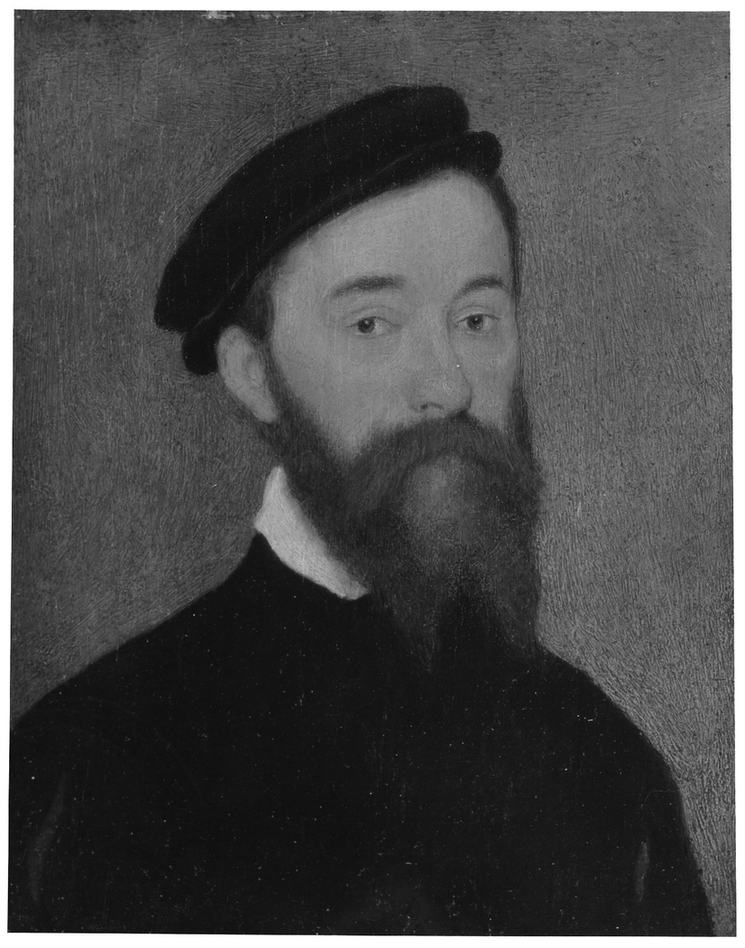 Portrait of a Man with Brown Beard