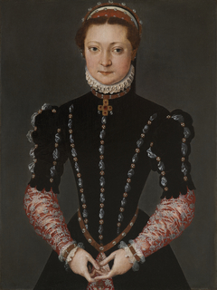 Portrait of a Noble Young Lady