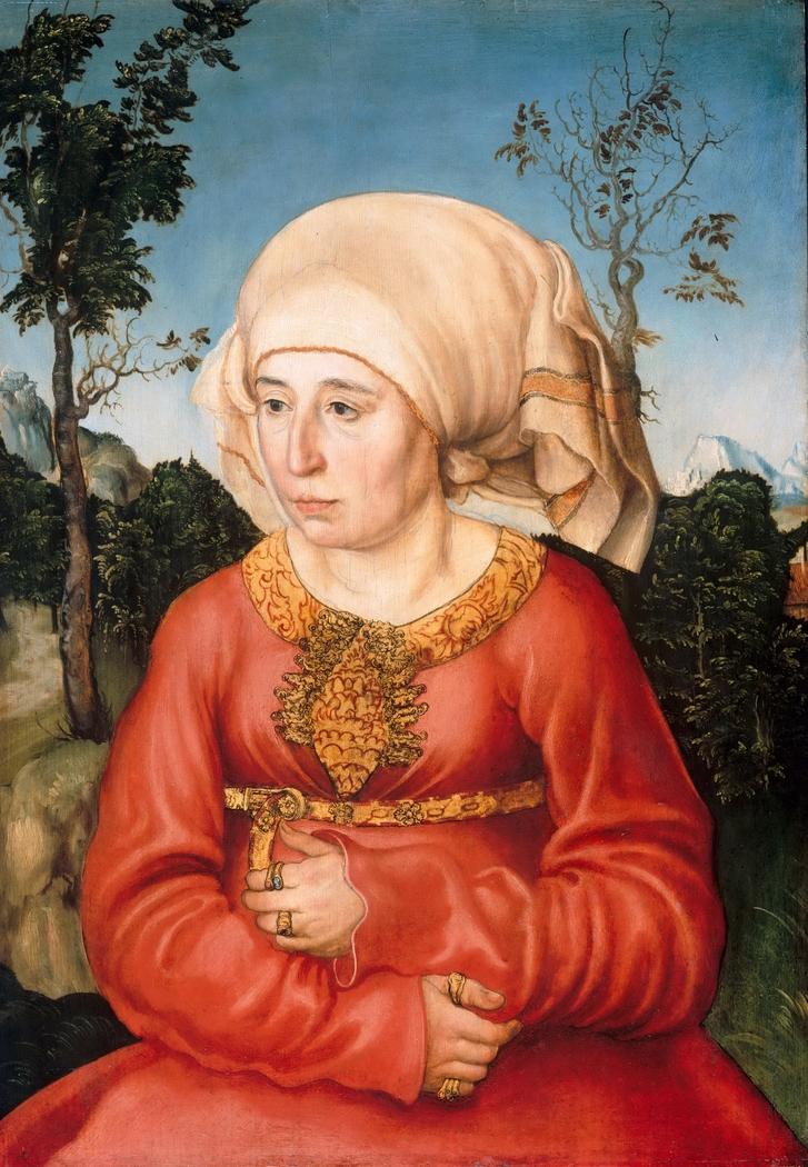 Portrait of a Scholar's Wife