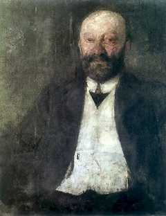 Portrait of Adam Nowina-Boznański, the artist's father