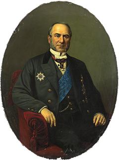 Portrait of Baron Alexander Stieglitz