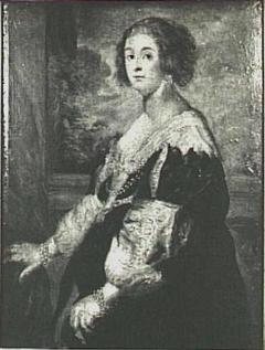 Portrait of Béatrice de Cusance, princess of Cantecroix, Duchess of Lorraine (1614-1663)