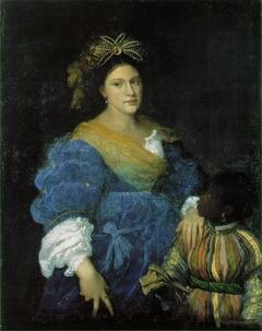 Portrait of Laura Dianti