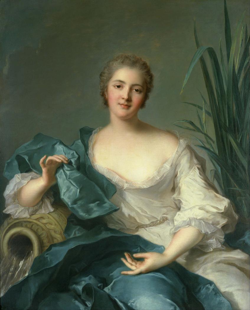 Portrait of Madame Marie-Henriette Berthelot de Pléneuf