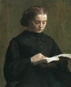 Portrait of Mademoiselle Marie Fantin-Latour