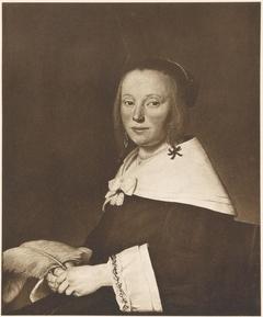 Portrait of Maria Hammius (....-1678)