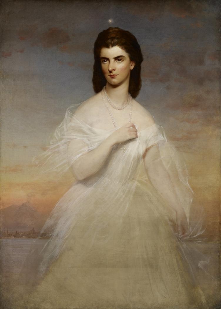Portrait of Queen Maria Sophia of Naples