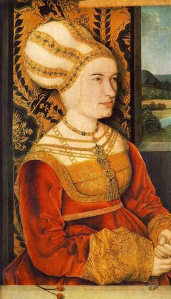 Portrait of Sibylla (or Sybilla) von Freyberg (born Gossenbrot)